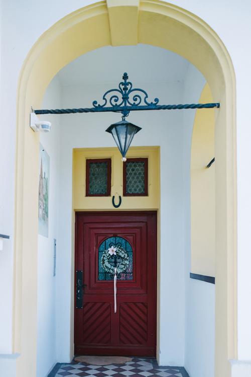 Eingangstüre die Villa Ingolstadt